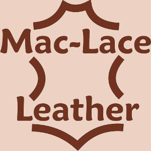 Mac-Lace Leather Logo Alternate